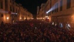 Хорваты празднуют вступление в Евросоюз