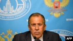 Russian Foreign Minister Sergei Lavrov said he urged Syria to put its chemical weapons under international control.
