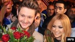 Almaniyanın Düsseldorf şəhərində keçirilən 56-cı «Eurovision» mahnı müsabiqəsində Azərbaycanı təmsil edən Eldar və Nigar