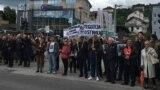 Protest pred Sudom i Tužilaštvom BiH