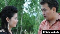 Кинорежиссер Нурбек Эген менен актриса Марал Койчукараева