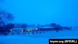 Горнолыжный курорт на Ай-Петри. Крым, 7 марта 2018 года