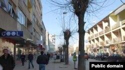 Pamje nga qyteti i Ferizajt
