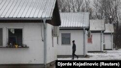 Србија-камп за мигранти и бегалци Крњача,16.01.2018