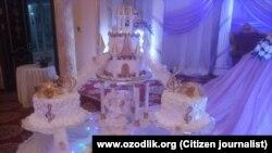 Ташкентские свадьбы часто критикуют за «излишнюю помпезность».