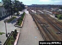 Сімферопольський залізничний вокзал, 29 липня 2015 року
