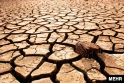 Photos of a drought in Iran's Khuzestan Province. Experts say Iran will be among the most water-stressed countries in the world by 2040. (file photo)