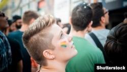 Shutterstock - transgender lgbt gay bi-sexual trans-sexual gay-parade, Shutterstock.com