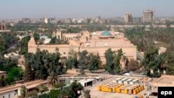 Pamje e Zonës jeshile në Bagdad të Irakut