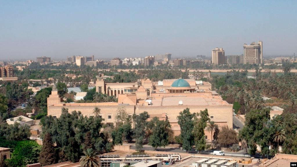 بیانیه «سنتکام» در پی انفجار موشک کاتیوشا نزدیک سفارت آمریکا در بغداد