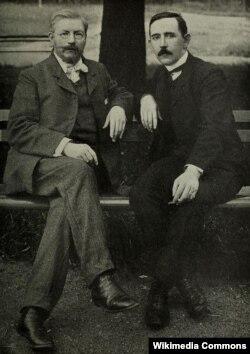 Павел Милюков и Алексей Аладьин
