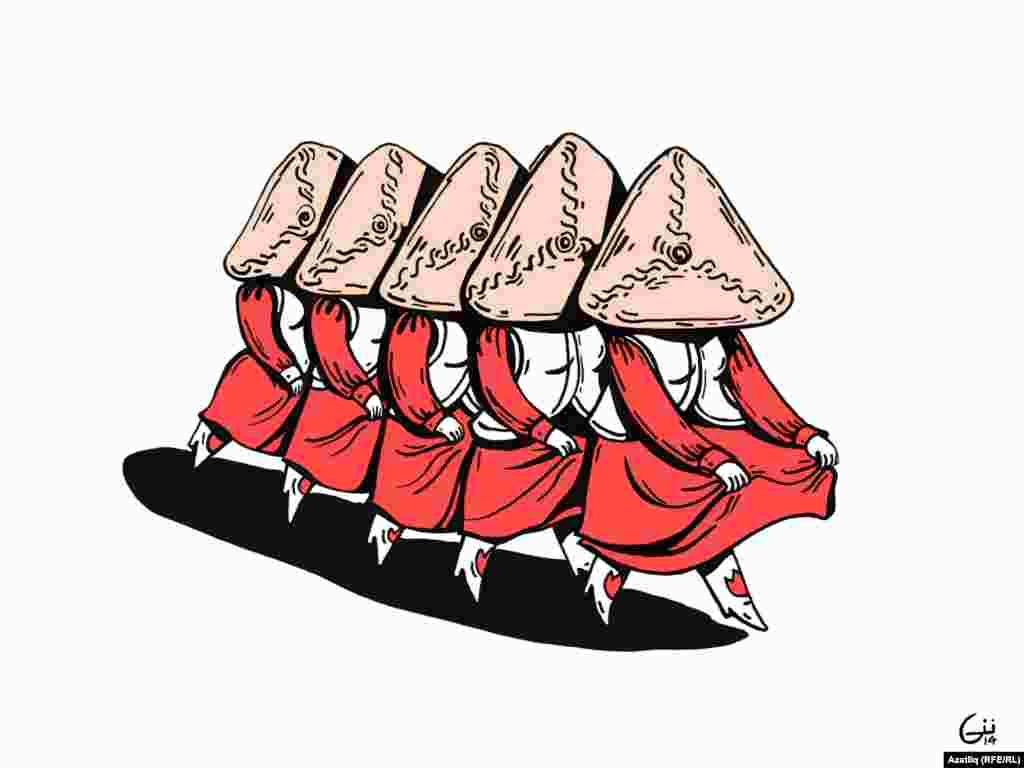 """""""Танцующие треугольники"""" По мнению некоторых читателей татарки только и думают, как и чем бы всех накормить"""