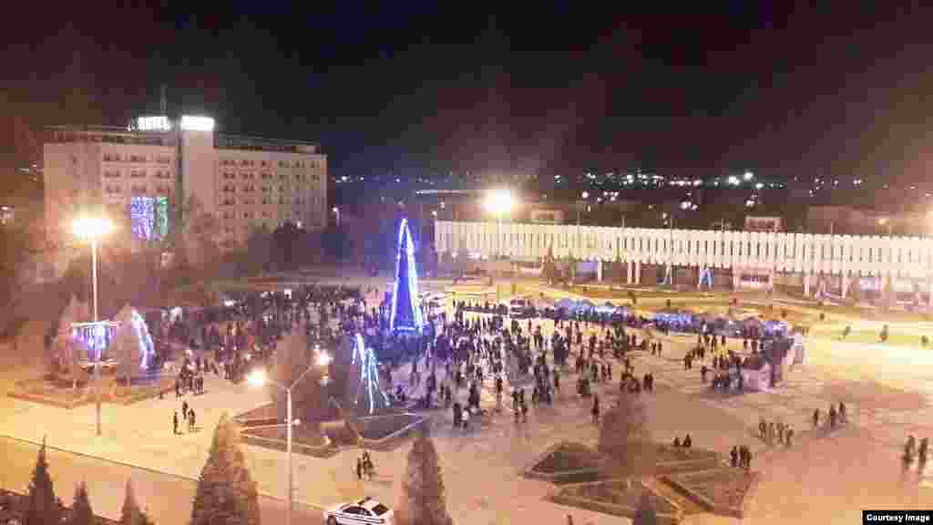 Uzbekistan - New Year celebrations in Samarkand and Navoiy cities