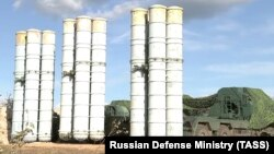 Russian S-400 long-range air-defense missile systems