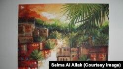 عراقيات، لوحة للفنانة سلمى العلاق