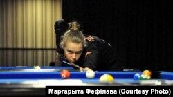 Маргарыта Фефілава, №1 этапаў Эўратуру