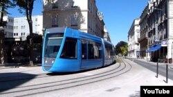 Gəncədə tramvayın rəngi göy olacaq