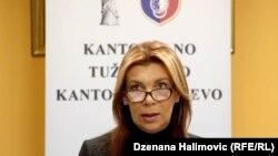 Krivična prijava je podignuta i protiv bivše kantonalne tužiteljice Dalide Burzić (na fotografiji, fotoarhiv)