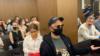 """Кирилл Серебренников и Софья Апфельбаум на оглашении приговора по делу """"Седьмой студии"""""""