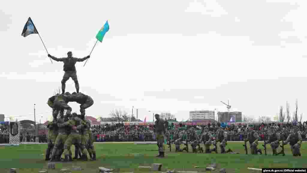 Святкування утворення десантно-штурмового батальйону в Феодосії