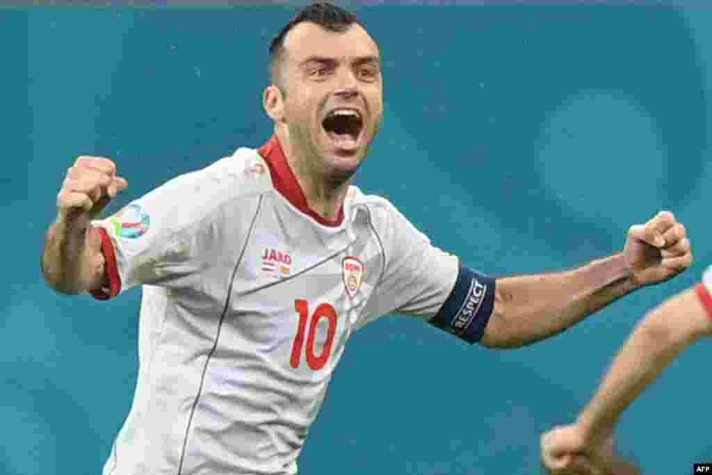МАКЕДОНИЈА - Македонската фудбалска репрезентација загуби со 3:0 на натпреварот против Холандија на Европското првенство 2020. Капитенот Горан Пандев се прости од репрезентативниот дрес со пораз на последниот натпревар од групата Ц.