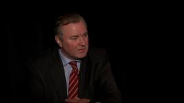 Armenia -- Ukraine's Ambassador to Armenia Ivan Kukhta gives and exclusive interview to RFE/RL's Harry Tamrazian, Yerevan, 09Mar2014