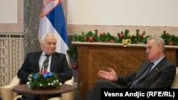 Ne susreću se predsednici država sa licima osuđivanim za ratne zločine tek tako: Pančić