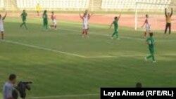 بيروت ـ مباراة العراق وسوريا في كرة القدم