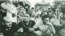 Tatarstan -- Azatliq/Freedom movement in Kazan, 1990s