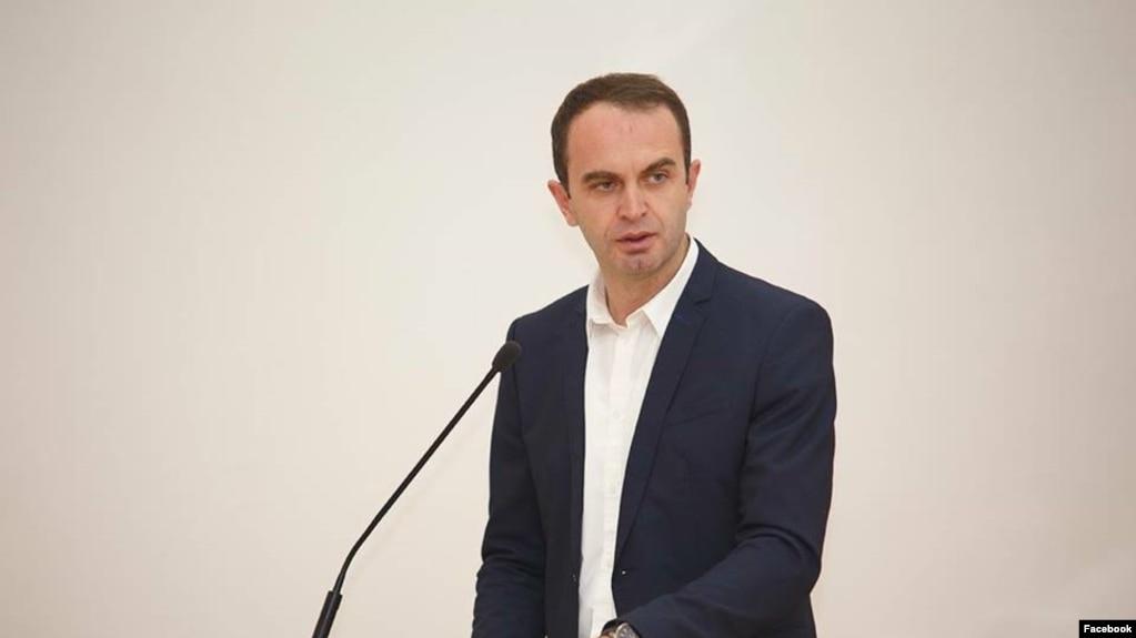 Kryetari i Tuzit, Nik Gjeloshaj.