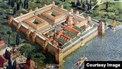 Дворец Диоклетиана в Далмации. Реконструкция