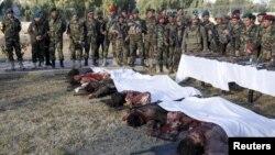 جسد ستیزهجویان طالبان