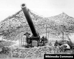 Amerika ordusunda 240 mm-lik top, 2-ci Dünya Müharibəsi