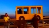 BUS-ted: Protesting Pedestrians In Russian Low-Speed Chase