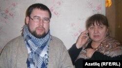 Таһир Миңнебаев һәм Әлмира Жукова
