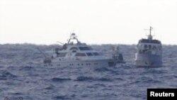 """Судна """"Флотилии свободы"""", направлявшиеся в сектор Газа"""