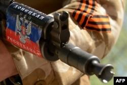 Оранжево-черную ленту используют пророссийские сепаратисты на востоке Украины.