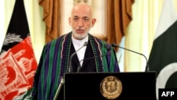 Əfqanıstan prezidenti Hamid Karzai