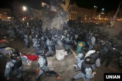 """""""Беркут"""" на Майдане, 30 ноября 2013 года"""