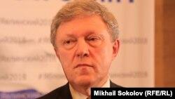Основатель российской партии «Яблоко» Григорий Явлинский.