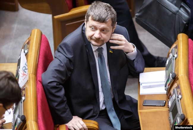 Игорь Мосийчук в Верховной Раде Украины, апрель 2016 года
