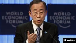 "UN Secretary-General Ban Ki-moon says the UN has ""credible information"" to substantiate the report."