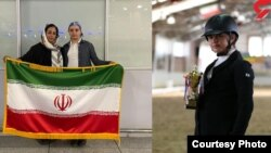 سارا پورعظیما، نوجوان سوارکار ایرانی که به دلیل ممنوعالخروج شدن از سوی پدرش از حضور در مسابقات جهانی بازماند.