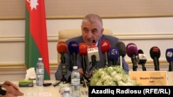 Глава ЦИК Азербайджана Мазахир Панахов
