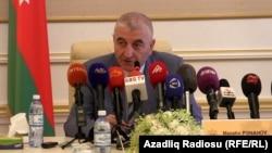 Председатель Центральной избирательной комиссии Азербайджана Мазахир Панахов