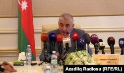 Председатель Центральной избирательной комиссии Мазахир Панахов