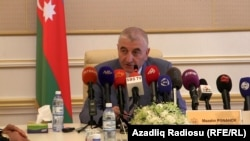 Azerbaijan -- the Chairman Central Election Commission Mazahir Panahov - 02Aug2013