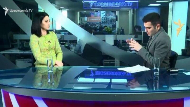 Իշխանափոխություն երթի, ցույցի ու հանրահավաքի արդյունքում չի կարող լինել. Արփինե Հովհաննիսյան