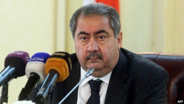 Iraqi Foreign Minister Hoshyar Zebari