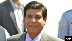 The Pakistani ruling coalition's nominee for prime minister, Raja Pervez Ashraf